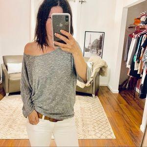 Lularoe Heathered Gray Shirt Size Small
